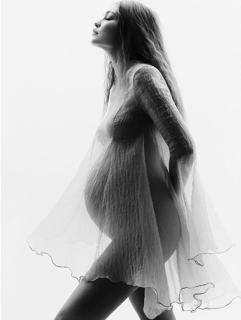Inspiration from Gigi Hadid's Pregnancy Shoot