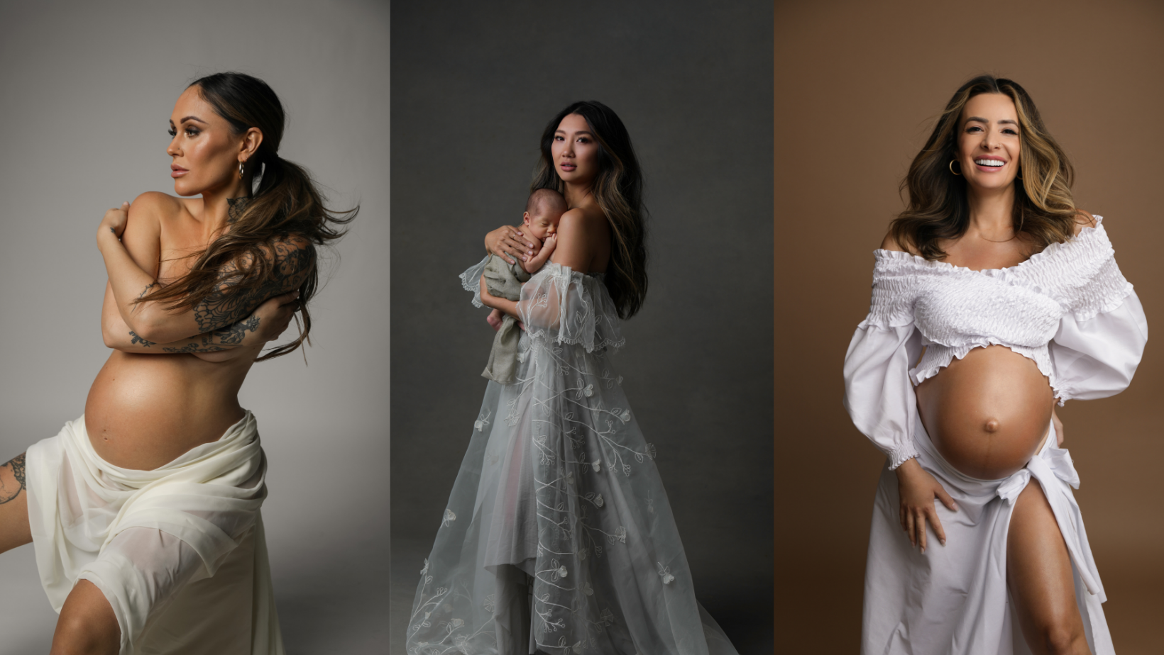 Luela Kaba's Custom Dresses, Backdrops, and Photoshoots
