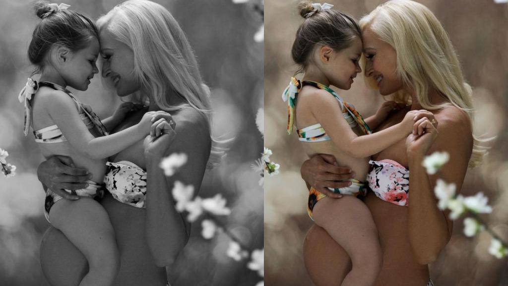 Behind The Scenes Maternity Photoshoot with Luela Kaba